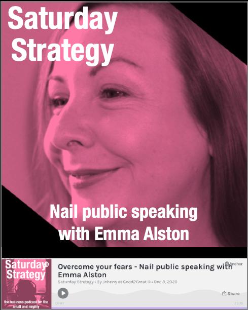Emma Alston - Voice Coach - Saturday Strategy Podcast