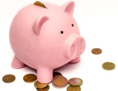 piggy bank - pay attention to cash flow