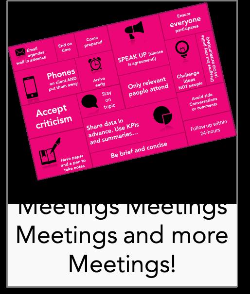 Meetings meetings and more meetings