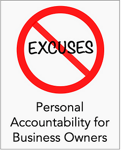 Personal Accountability for Business Owners